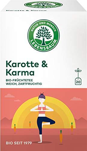 Lebensbaum Bio Früchtetee Karotte und Karma, 3er Pack (3 x 40 g)
