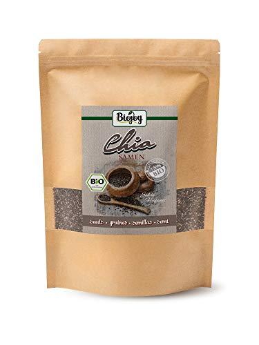 biojoy semi di chia crudi biologici, salvia hispanica (1 kg)