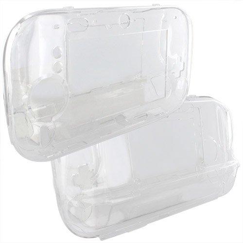 Skque® Etui housse cover case Cristal dur pour Nintendo Wii U Manettes Gamepad Controller, Transparent