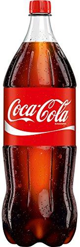 Coca-Cola - Cola Erfrischungsgetränk DPG PET - 2,0l inkl. Pfand (Coca Cola 2 Liter)