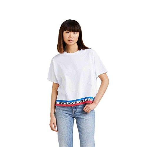 Levi's® Damen T-Shirt Graphic J.V. Tee Weiss (10) S