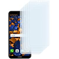 6 x mumbi Displayschutzfolie für Huawei P20 Lite Folie Schutzfolie (bewusst kleiner als das Display, da dieses gewölbt ist)