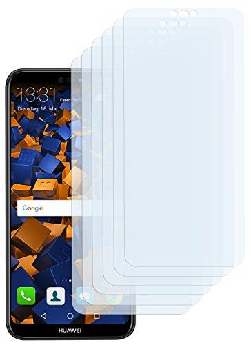 mumbi Schutzfolie kompatibel mit Huawei P20 Lite Folie klar, Displayschutzfolie (6x)
