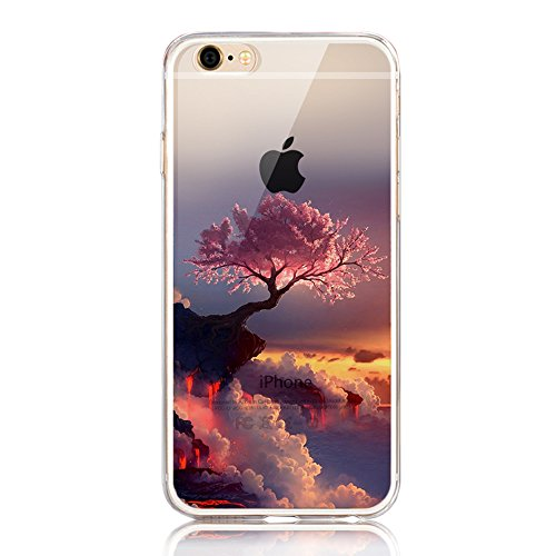 cover-iphone-se-custodia-iphone-5s-sunroyalr-paesaggio-scenario-creativa-cover-ultra-sottile-silicon