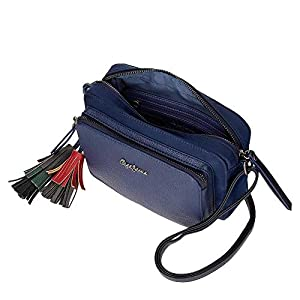 41tcf%2BdxV9L. SS300  - Pepe Jeans ANN Bandolera, 1.61 litros, Azul
