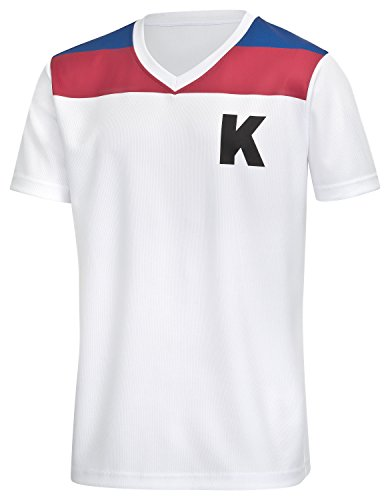 Helden Kostüm Gruppe - Kickers Trikot (S)