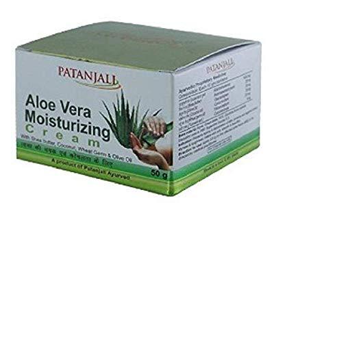Patanjali Ayurved Limited Aloevera Moisturizing Cream, 50g