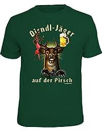 Original RAHMENLOS T-Shirt für den Dirndl-Jäger auf der Pirsch