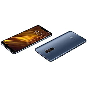"Xiaomi Pocophone F1 15,7 cm (6.18"") 6 GB 64 GB Ranura híbrida Dual SIM 4G Azul 4000 mAh - Smartphone (15,7 cm (6.18""), 6 GB, 64 GB, 12 MP, Android 8.1, Azul)"