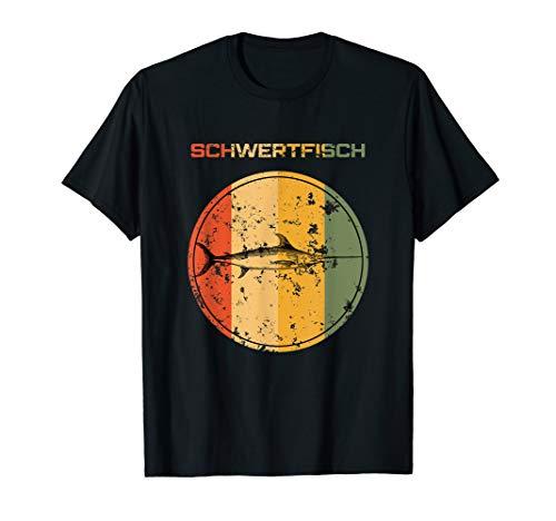 Kostüm Schwertfisch - Hochseeangeln Schwertfisch Lustig Kostüm Set Ausrüstung T-Shirt