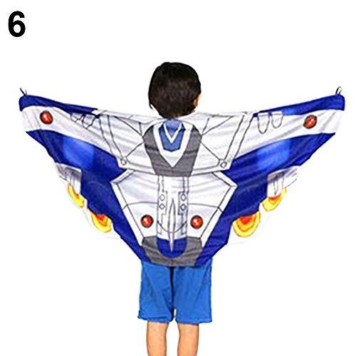 xMxDESiZ Magische Flügel Wickeltuch Kinder Party Kostüm Warm Schal Spielzeug