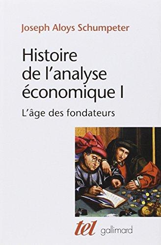 Histoire de l'analyse économique par Joseph A. Schumpeter