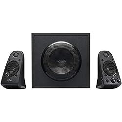 Logitech Système de Haut-Parleurs Z623 2.1, Certifié THX, Dolby & DTS, 400 Watts en Puissance, Multi-Dispositifs, Entrées Audio 3,5 mm et RCA, Commandes Intégrées, Prise EU, PC/PS4/Xbox/TV/Smartphone