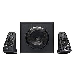 Logitech Z623 Lautsprecher-System mit Subwoofer, Satter Bass, 400 Watt Spitzenleistung, THX-Zertifiziert, 3.5mm & Cinch-Eingänge, Multi-Device, PC/PS4/Xbox/DVD-Player/TV/Smartphone/Tablet