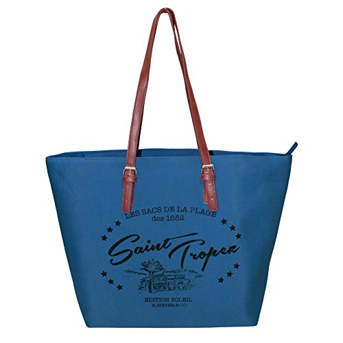 Fabrizio Borsa Messenger blu blu royal 48 x 38 x 18 cm blu royal