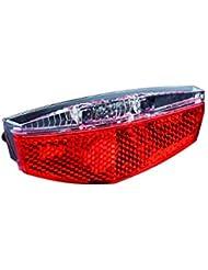 Büchel LED Tivoli mit Standlichtfunktion 50752 Gepäckträgerrücklicht, Schwarz, One Size