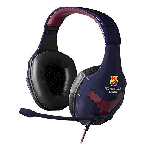 Oferta de MARSGAMING Mars Gaming MHBC, Cascos Gaming FC Barcelona Oficial, Superbass, PS4/XBOX/SWITCH