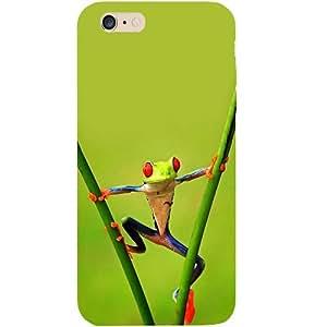 Casotec Frog Design Hard Back Case Cover for Apple iPhone 6 Plus / 6S Plus