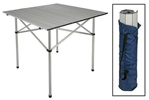 Alu Gartentisch Campingtisch Tisch Klapptisch Klappbar mit Tasche Neu #031 (Kleine Aluminium-tisch)