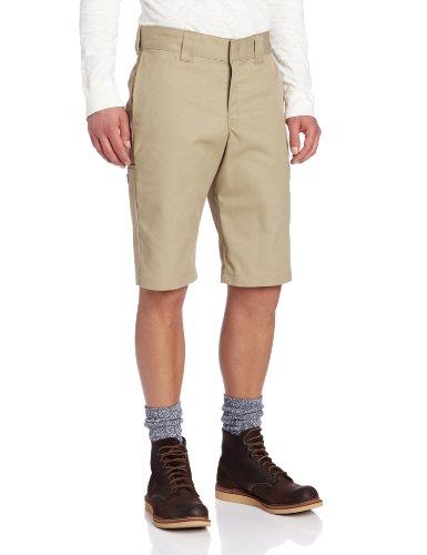 Dicota - Slim 13, Pantaloncini da uomo Beige (Desert Sand)