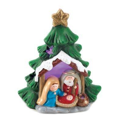 Koehler casa accento decorativo luminoso presepe albero decor figurine