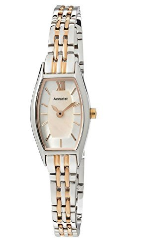 accurist-ladies-rose-gold-two-tone-stainless-steel-bracelet-watch-lb1279
