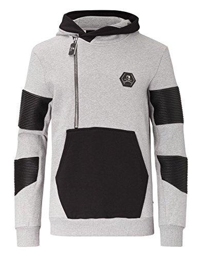 Philipp Plein 'Safari' Herren Kapuzenpullover Hoodie Sweatshirt Gr. M (Kleid Safari Style)