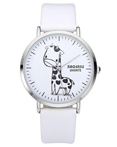 jsdde-montre-quartz-fond-blanc-croquis-de-la-girafe-botier-de-montre-argent-tte-de-montre-ronde-pu-b