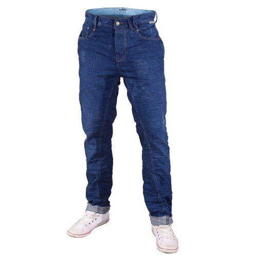 Mish Mash 1987 Blau Pacific Herren Jeans Blau