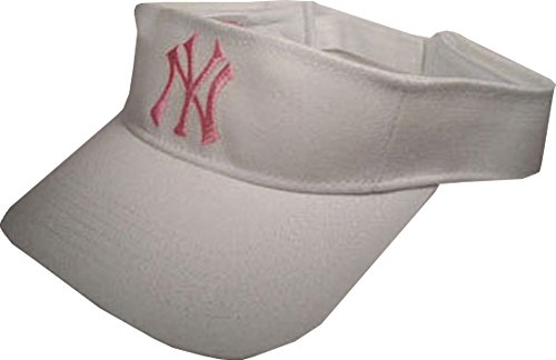Preisvergleich Produktbild N.Y. Visor Schirmmütze Major League Baseball Weiß-Rosa Art.-Nr. 403-000001-1046 Einheitsgröße 100% Baumwolle