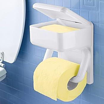 feuchtt cherbox mit wc rollenhalter feuchttuchbox mit toilettenpapierhalter made in germany. Black Bedroom Furniture Sets. Home Design Ideas