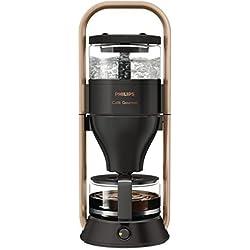 Philips HD5408/70 Cafe Gourmet Filter-Kaffeemaschine, Direkt-Brühprinzip, schwarz / kupfer