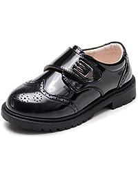 Zapatos de Cuero para niños para Zapatos cómodos de Cuero Suave Zapatos para niños de la Escuela