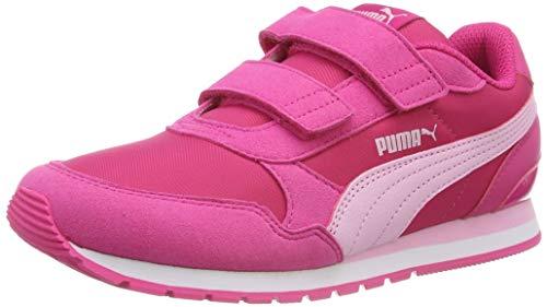Puma Unisex-Kinder St Runner V2 Nl V Ps Sneaker, Pink (Fuchsia Purple-Pale Pink-Puma White), 34 EU