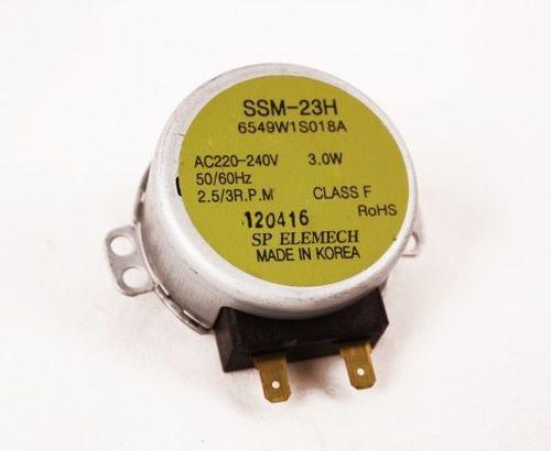 LG 6549W1S018A - Motor de plato giratorio para microondas Bosch, Siemens, SSM-23H...