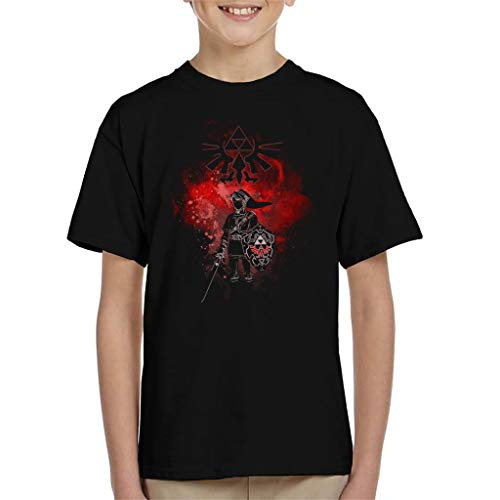 Dark Link Legend of Zelda Kid's T-Shirt - Geschenke Kids Dark T-shirt