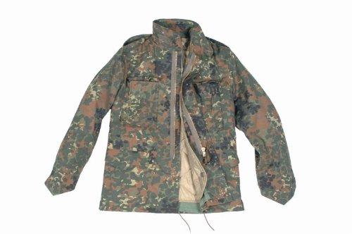Mil-Tec M65 - Giacca esercito americano Marrone - Rosso
