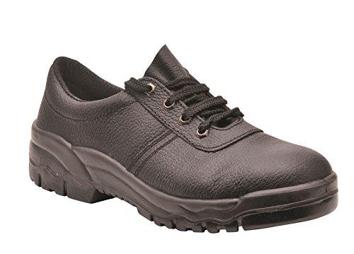 Portwest - Steelite Protector Shoe S1P, Calzature Di Sicurezza da uomo Nero