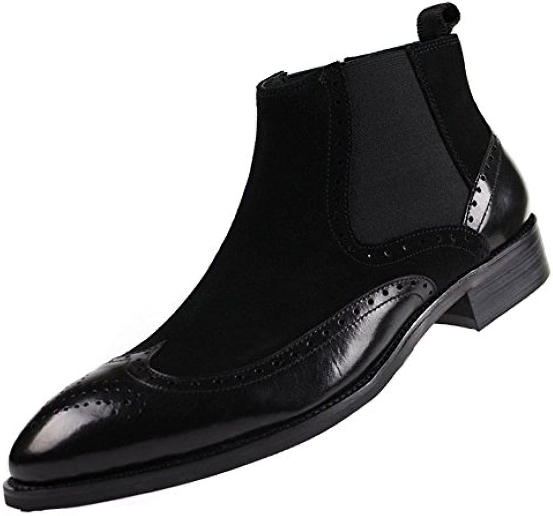 Spitzemann beiläufige Martin Stiefel Breathable Geschäfts Schuhe (23.5cm 27cm)Spitzemann beiläufige Martin Stiefel Breathable Geschäfts Schuhe 23 5cm 27cm Billig und erschwinglich Im Verkauf