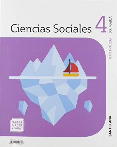 CIENCIAS SOCIALES CASTILLA Y LEÓN 4 PRIMARIA SABER HACER CONTIGO SANTILLANA