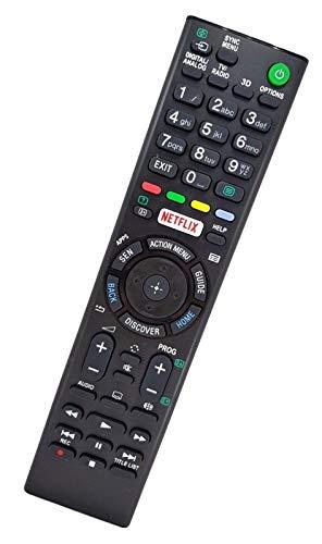 Ersatz Fernbedienung passend für Sony TV KD-50SD8005 | KD-55S8005C | KD-55S8505C | KD-55X8005C | KD-55X8505C | KD-55X8507C | KD-55X8508C | KD-55X8509C | KD-55X9005C | KD-55X9305C