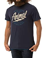 Animal Men's Reverse Short Sleeve T-Shirt
