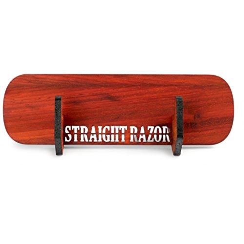 A.P. Donovan – Rasiermesser-Ständer – Halter aus Holz (für handelsübliche Rasiermesser) – handgefertigt, schlicht, platzsparend – Geschenk-Set