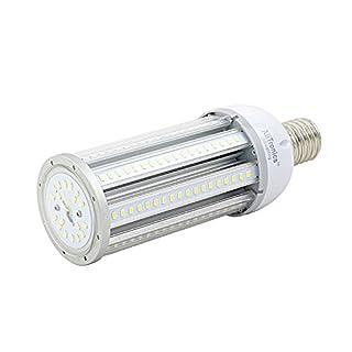 AliTronics 54w Led Corn Bulb,Super Bright 6500 Lumens,Replace 250-300w Metal halide, 5 Years Warranty,E39 Mogul Base,5000k,UL Listed,Used in Post Top,Acorn,highbay/lowbay Fixture