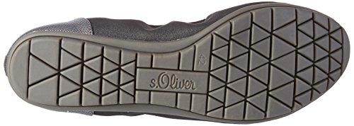 s.Oliver 22119, Ballerine chiuse donna Blu (Navy Metallic)