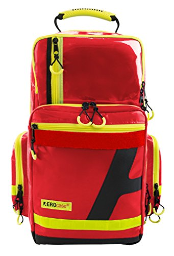 Notfallrucksack AEROcase® - Pro1R PL1C AEROtex ® - Plane, rot (Badartikel)