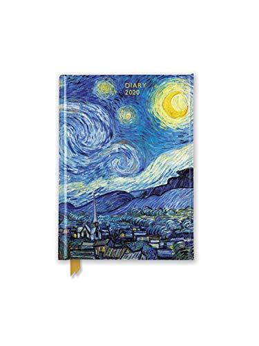 Vincent van Gogh - Die Sternennacht 2020: Original Flame Tree Publishing-Pocket Diary [Taschenkalender]