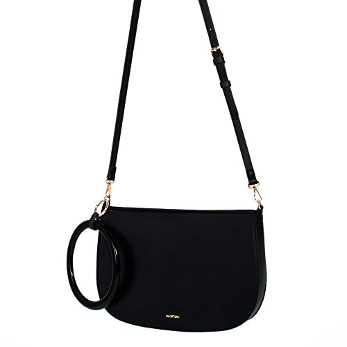 Parfois - Clutch - Borsa Tropical Moon - Donne Nero