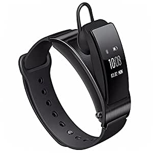 Huawei TalkBand B3 5 Modes 4.2 Bluetooth Headset Bracelet for Android/iOS, Support Fitness Tracker/Pedometer/Reminder/Anti-lost/Sleep Monitor(Black)
