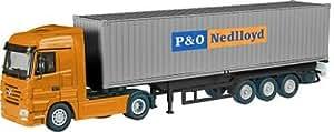 MERCEDES Actros avec semi porte container P&O NEDLLOYD 40Pieds